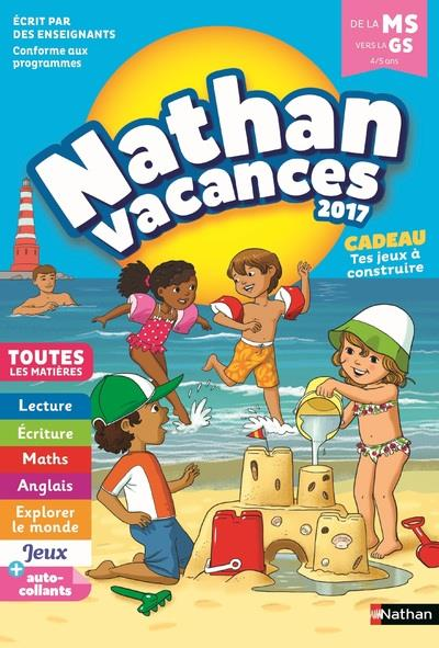 NATHAN VACANCES 2017 MATERNELLE MS VERS GS 45 ANS